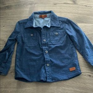 Baby boy 7 for all mankind long sleeve shirt